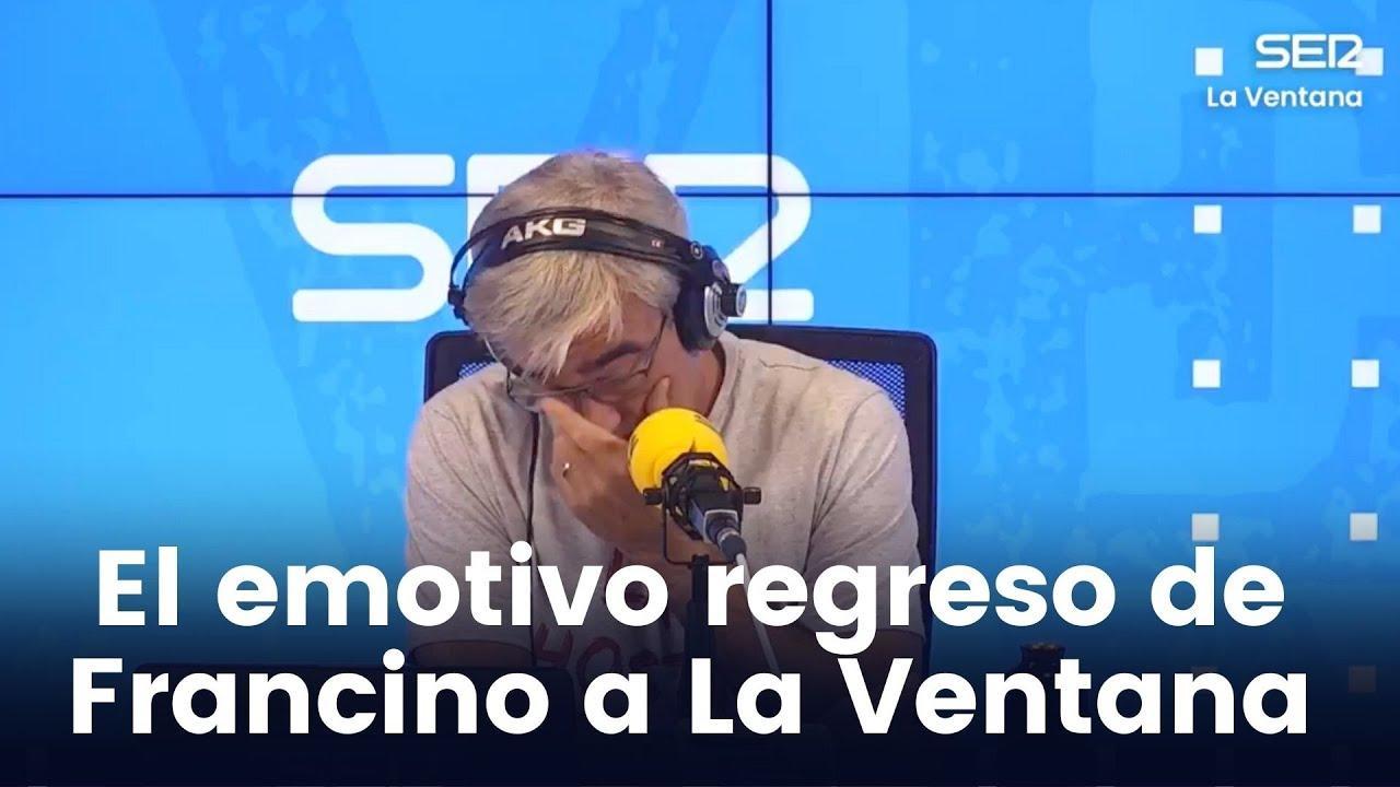 Carles Francino vuelve a la SER entre lágrimas tras superar el coronavirus