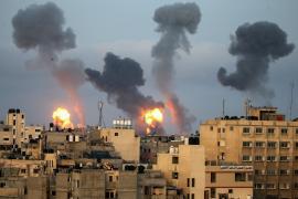 Al menos 24 palestinos muertos en los bombardeos de Israel contra la Franja de Gaza