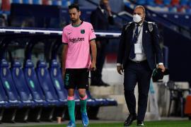 Sergio Busquets: «La Liga queda prácticamente sentenciada para nosotros»