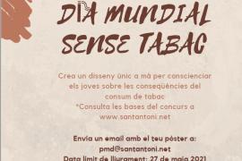 Sant Antoni convoca el concurso de dibujos 'Esfuma't' con motivo del Día Mundial sin Tabaco