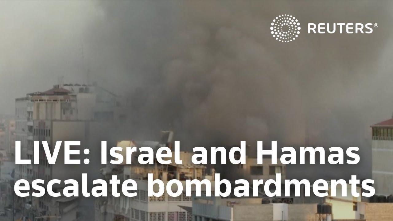 Aumentan a 67 los palestinos muertos por los ataques de Israel, que alcanza dos instalaciones de Hamás