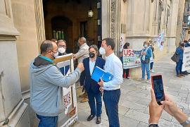 Sevillano, tajante: «No habrá peajes en las carreteras de Mallorca»