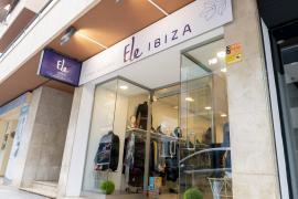 La tienda Ele Ibiza busca empezar de nuevo tras un atraco sufrido el 30 de abril