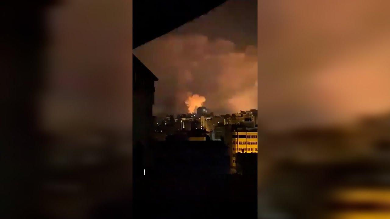 Israel lanza un intenso ataque aéreo contra Gaza