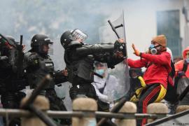 Concentración por la paz en Colombia