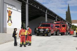Las mejores imágenes de los ejercicios de instrucción de la UME en Ibiza. (Fotos: Daniel Espinosa)