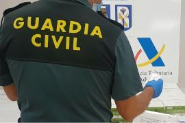 Intervienen casi 1.200 tests COVID procedentes de China en Son Sant Joan