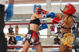 Kick boxing contra el cáncer y el hambre