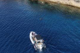 El Govern denuncia una embarcación con tres pescadores sin licencia en la reserva marina de es Freus