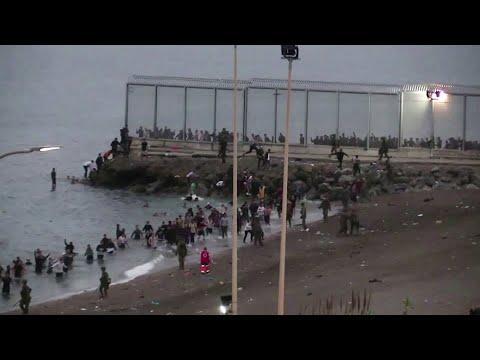El Gobierno ve un asalto y no una crisis migratoria las llegadas a Ceuta