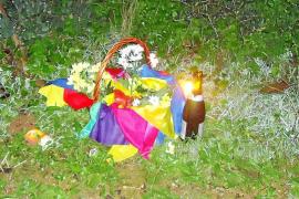 La zona del campo de fútbol de Sant Jordi se convierte en el escenario de un ritual de santería
