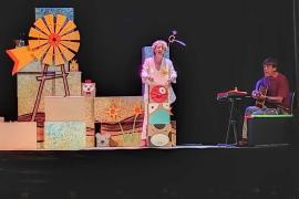 Unos 3.000 escolares empiezan a disfrutar del teatro en las sesiones especiales del Festival Barruguet