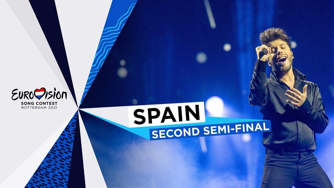Así es la actuación de Blas Cantó en Eurovisión 2021