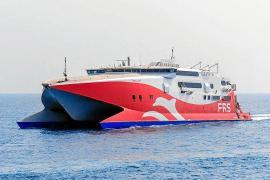 La naviera FRS sigue esperando los permisos de APB para operar entre Ibiza y Formentera