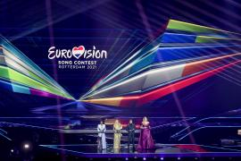 Blas Cantó defiende 'Voy a quedarme' en la decimotercera posición de la gran final de Eurovisión