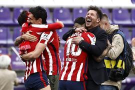 El Atlético de Madrid, campeón de Liga