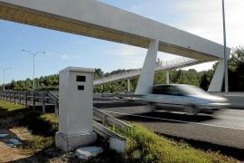 El Consell pide a la DGT dos radares en las carreteras de Sant Jordi a Sa Canal y de Sant Rafel a Santa Agnès