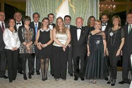Cena de Navidad del club rotario Palma Almudaina en el Castillo Hotel Son Vida