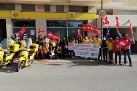 Los carteros de Ibiza convocan una protesta motorizada por Vila