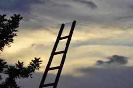 Escalera en el cielo