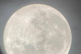 La luna más grande del año desde Sant Miquel