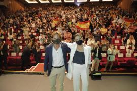 Vox se ve como «alternativa» en el primer mitin con público en Baleares