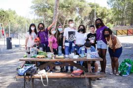 El taller de Apneef con la Alianza del Agua, en imágenes. (Fotos: Arguiñe Escandón)