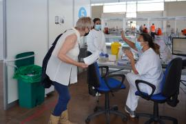 Los puntos de vacunación de Ibiza y Formentera alcanzan su capacidad máxima