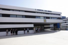 Ibiza registra dos ingresos durante el fin de semana y cinco nuevos positivos
