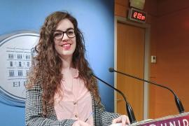 Esperança Sans, diputada de Podemos