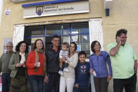 El segundo premio del 'Niño' cae en Mallorca y deja en Cala Rajada un millón de euros