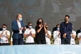 Més critica que Armengol hablara en castellano en la celebración de la UD Ibiza