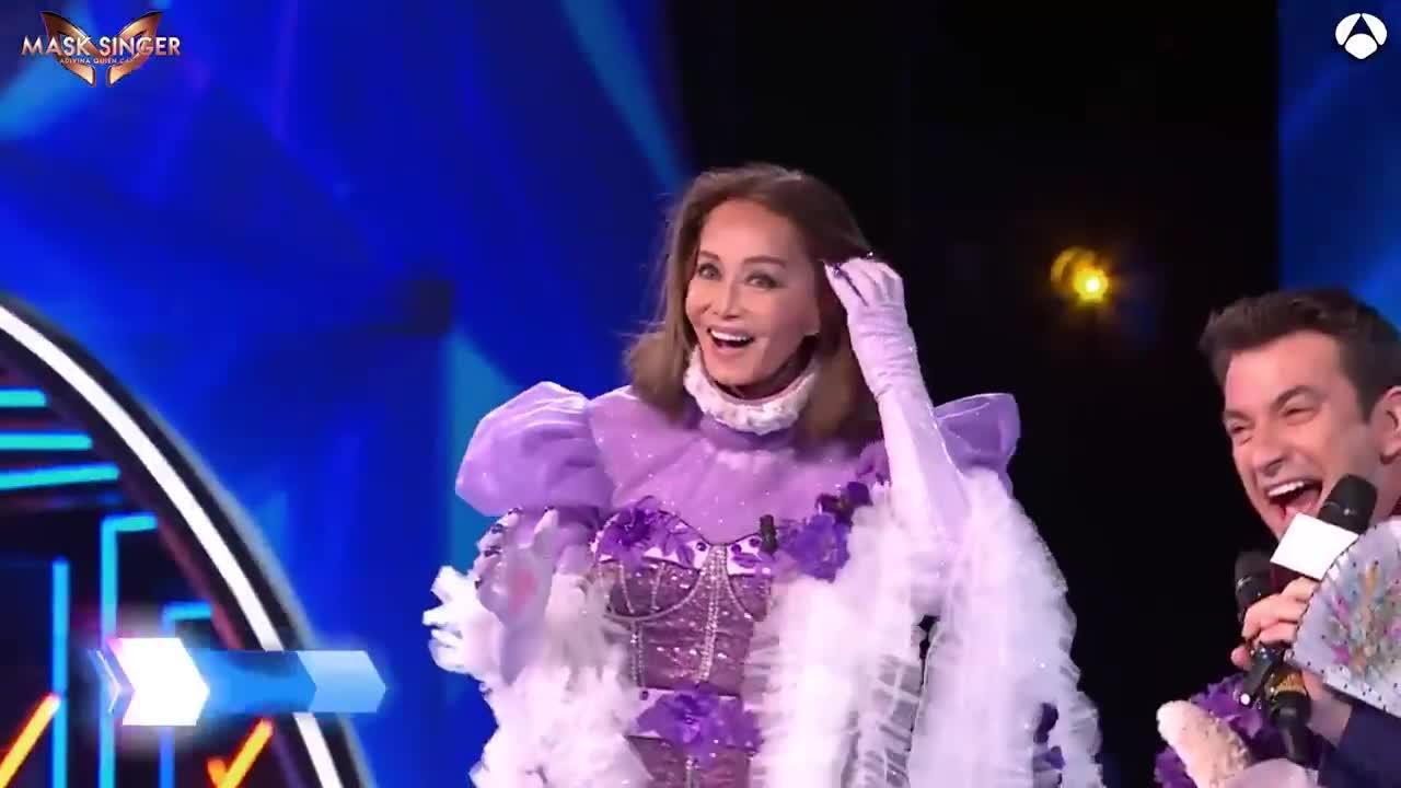 Isabel Preysler sorprende como 'Gatita' en 'Mask Singer'
