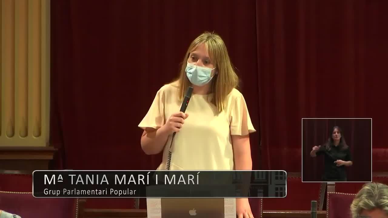 Tania Marí denuncia las diferencias de la sanidad entre las islas