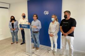 El PP acusa a Sant Josep de dejar a 50 familias de los Don Pepe «en la calle»