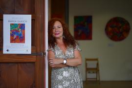 Las mejores imágenes de la exposición de Marga Guasch en Can Portmany. (Fotos: Marcelo Sastre)