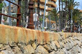 La reparación del paseo marítimo de Santa Eulària empezará el lunes