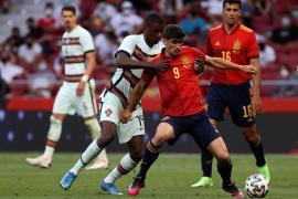 Un empate y un aviso para España en el amistoso ante Portugal
