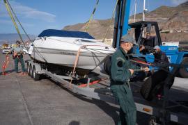 La embarcación de Tomás G , el padre de las niñas desaparecidas