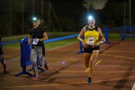 Las mejores imágenes de la carrera nocturna Blue Challenge.