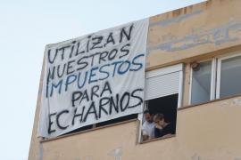 Los vecinos de los Don Pepe plantan cara al desalojo y anuncian demandas