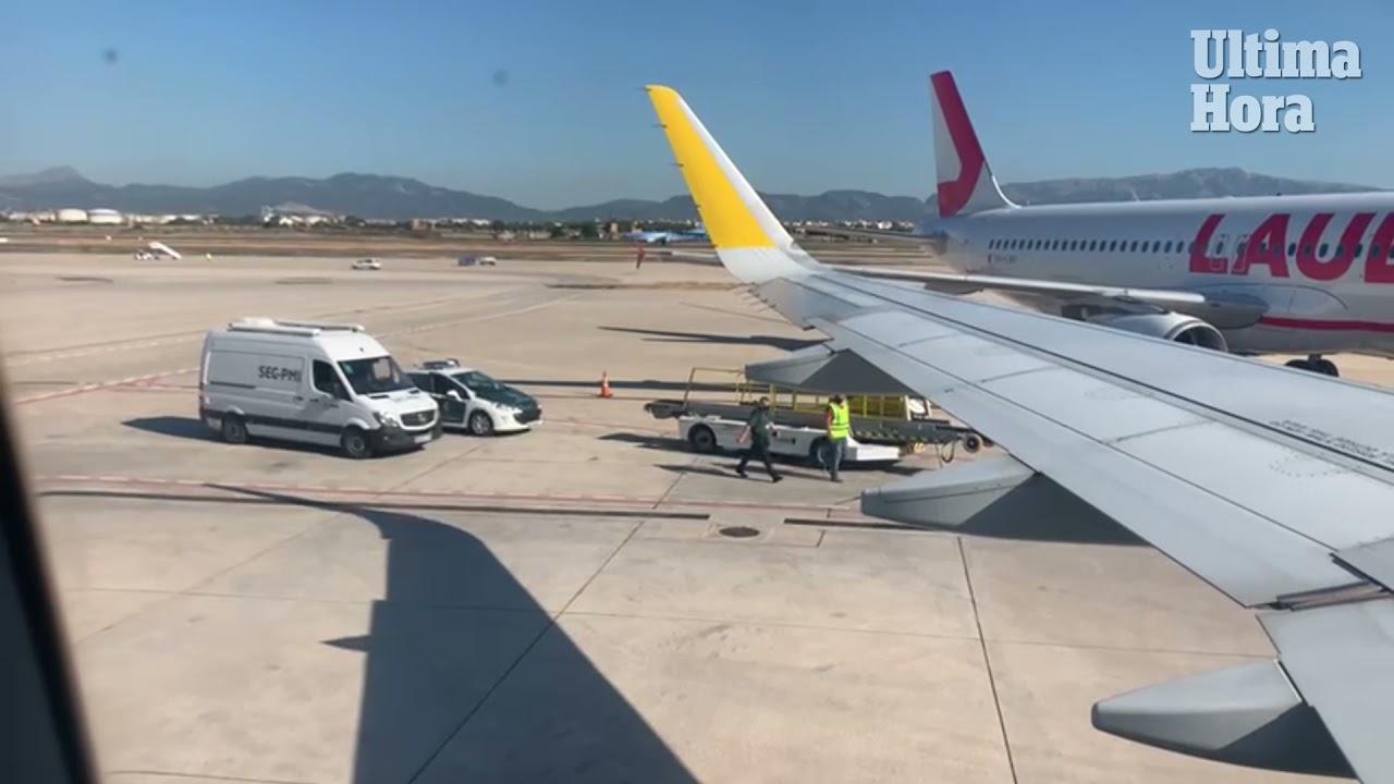 Una pasajera 'bloquea' el despegue de un vuelo en Palma
