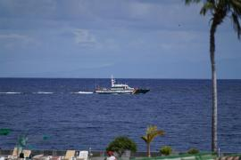 El robot marino que busca a las niñas de Tenerife localiza una botella de oxígeno y una sábana