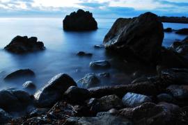 Rocas en el Port de Valldemossa
