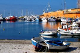 Puerto de pescadores de Palma de Mallorca