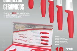 Consigue un set de cuchillos cerámicos firmados por Royalty Line