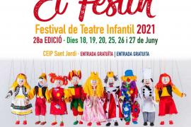 El Festín vuelve los dos últimos fines de semana de junio a Sant Jordi con 14 espectáculos infantiles