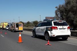 Muere un motorista en Ibiza en un choque frontal contra un coche