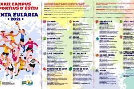 Santa Eulària celebra este verano los XXII Campus Esportius d'Estiu