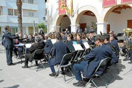 Este sábado vuelven los conciertos de la Banda Municipal de Santa Eulària tras más de un año sin actividad